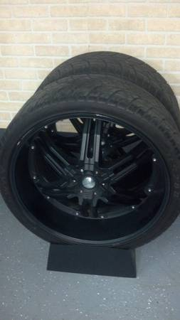 26 inch rims and tires for sale$2000obo (new orleans)