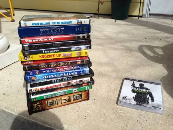 DVDs  Belle Chasse