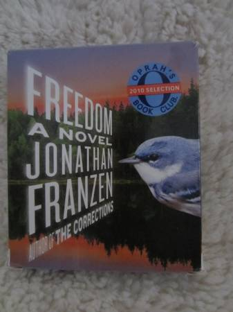 Book on CD - Freedom by Jonathan Franzen -   x0024 5  Metairie
