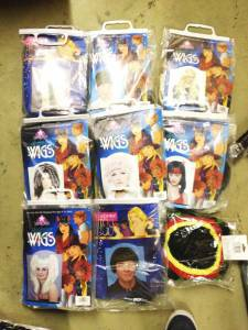 Retail Store Halloween Lot costumes wigs masks accessories props etc - $2000 (DC)