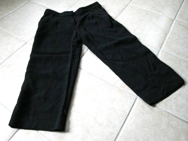 The Limited Black Cropped Pants - $12 (New Orleans)