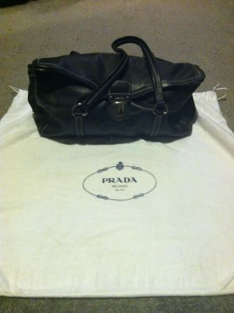 Authentic Black Nappa Prada Bag - $249 (New OrleansSlidell)