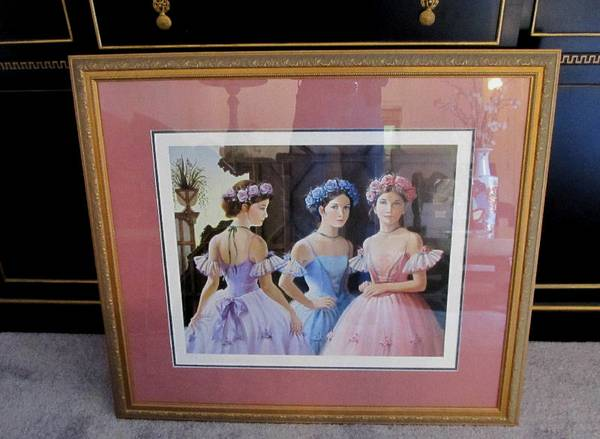 ESTATE Pati Bannister Limited PrintFramed - $100 (Old Metairie, LA)