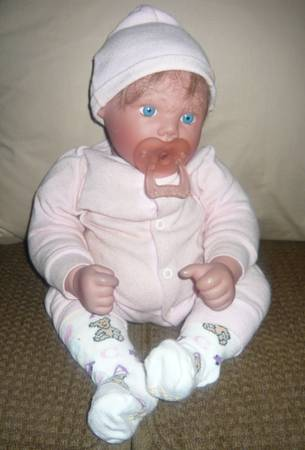 DOLL BY LEE MIDDLETON MY OWN BABY - $95 (PENSACOLA)