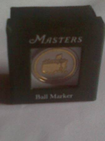 Masters ball marker -   x0024 20  harvey