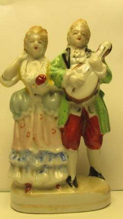 PORCELIN FIGURINES - OCCUPIED JAPAN  (106 HESPER AVE., MOLD METAIRIE, LA 70005)