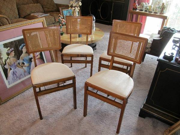 ESTATE 1970s Samsonite Folding Chairs - $75 (Old Metairie, LA)