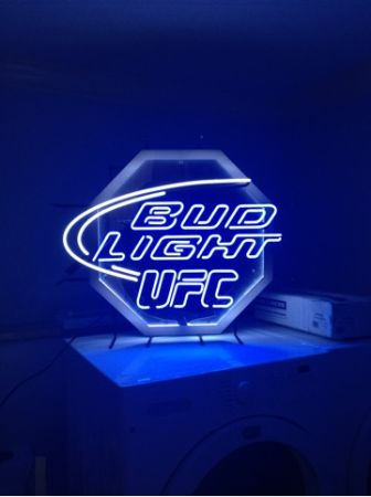 UFC Bud Light Neon Sign - $200 (Chalmette)