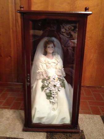 Princess Diana bride doll - $100