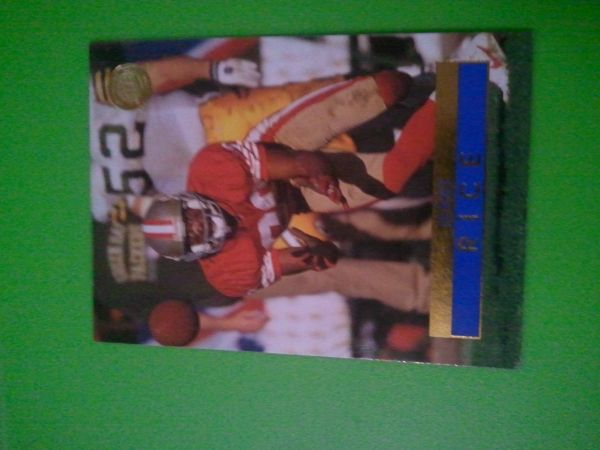 Jerry Rice card - $70 (Slidell)