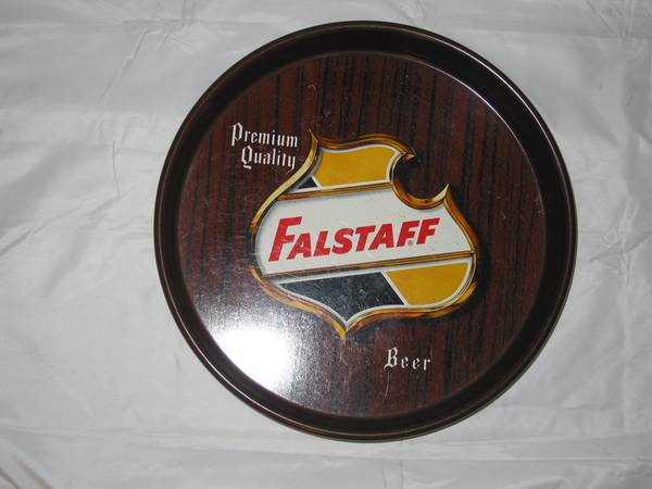 BEER TRAY-FALSTAFF - $50 (Metairie)