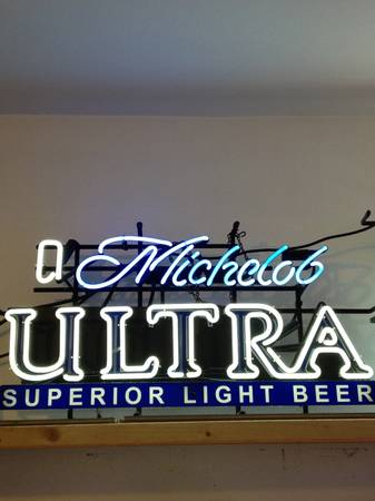 Michelob Ultra Neon Sign - $125