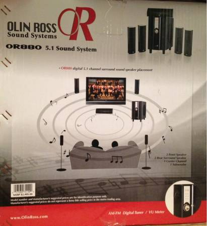 Digital surround sound stereo system - New In Box - $300 (Terrytown)