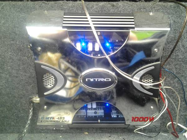 1000 Watt Nitro Amp 10 Rocksford Fosgate Punch FOR SALE - $200 (Slidell)
