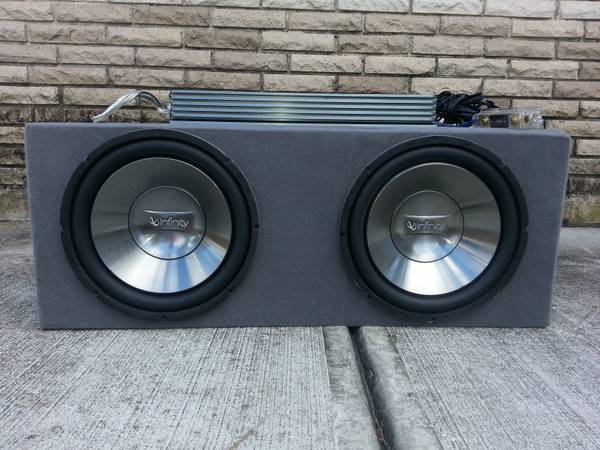 12 Subwoofers In Box 5000 Watt Bass Amp - $150 (Gentilly  Lakeview)