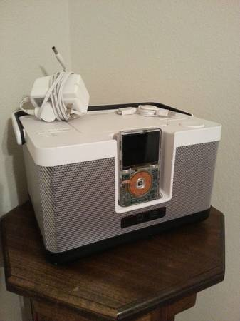 Memorex party Cube portable radio w iPod - $30 (New orleans)
