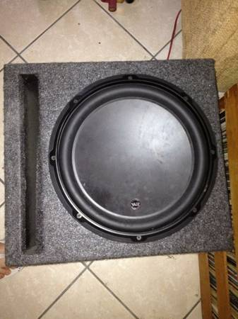 JL Audio 12w3v3 in ported box - $275 (NEW ORLEANS)