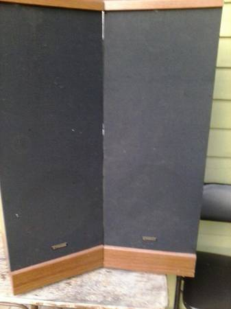Fisher STV-750 stereo speakers - $40 (uptown new orleans)