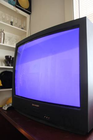 27 inch Sharp TV - $30 (uptown)