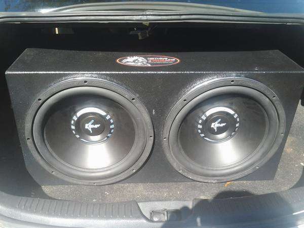 reduced price 2 15 inch BMS crossfires in sealed pro box - $275 (covington)