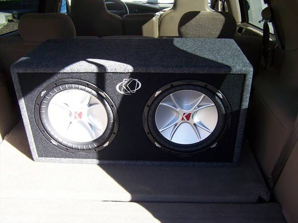 Two kicker cvr 12 with box - $200 (Hammond area)