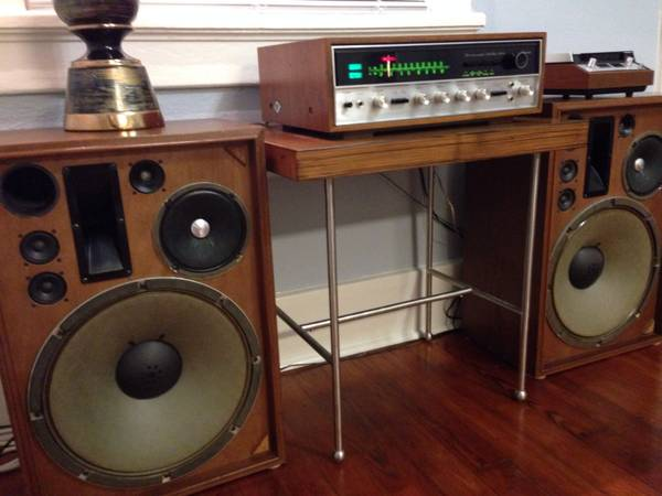 Vintage Walnut Sansui 5000A Stereo Tuner Amplifier w SP-3000 Speakers - $750 (New Orleans)