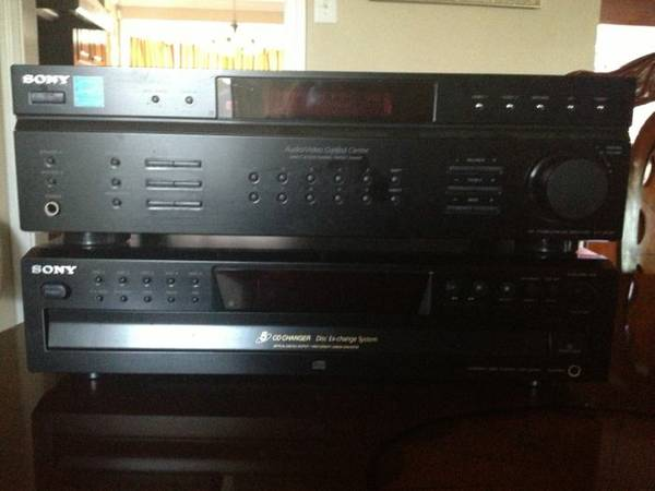 Sony cd changer receiver - $60 (Metairie)