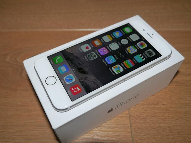 360  Apple iPhone 6 128GB  Silver  Factory Unlocked
