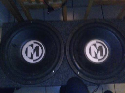 Memphis mojo 15 subwoofers in box - $60 (Metairie )