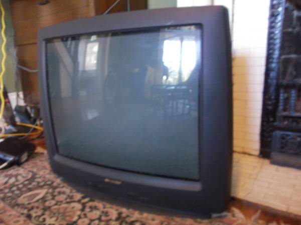TV - 27 inch Sharp - $15 (New Orleans)