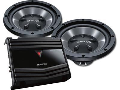 Brand New Kenwood p-w1210 2 2 12 Kenwood Subs with matching Amp - $175 (Mandeville)