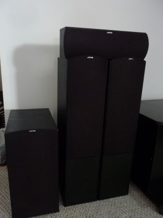 Jamo Speakers and Active Subwoofer - Made in Denmark - $100 (Metairie)