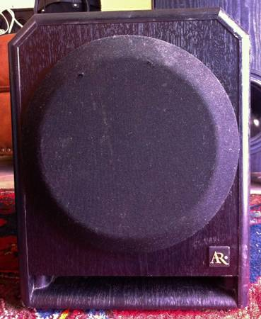 AUCOUSTICS RESEARCH SURROUND SOUND HOME THEATER SUBWOOFER  - $75 (NEW ORLEANS carrolton)