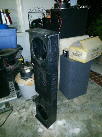 ford f150 00-03 probox for 2 10 subs - $60 (mandeville)