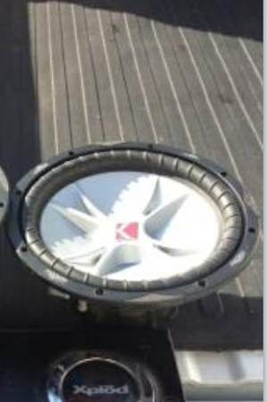 15 inch kicker cvr sub with box - $100 (Slidell)