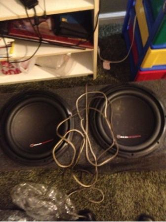 Dual 12 inch 12 subs in dual 12 box - $200 (New Orleans)