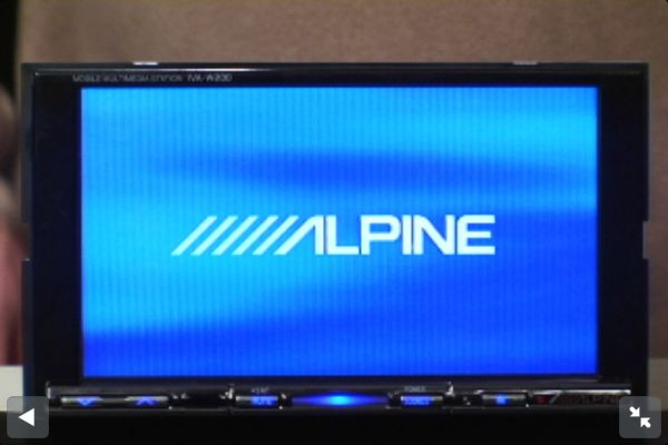 Alpine double din Iva-w200 - $1 (Westbank )