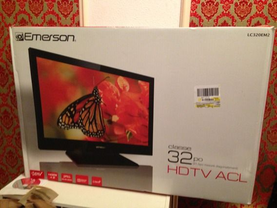 Emerson 32 Class LCD 720p 60Hz HDTV LC320EM2 BRAND NEW - $225 (NOLAWestbank)