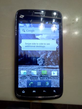 Boost mobile ZTE WARP - $70 (harvey)