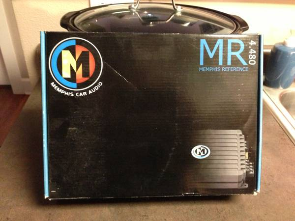 Memphis Car Audio Reference AMP MR 4.480 - $100 (New Orleans)