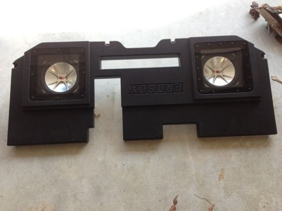 ProBox two 10 Subwoofer Truck Box - $375 (New Orleans area)
