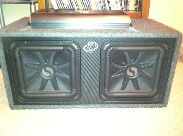 12 Subwoofers and Amp - $800 (new orleans, la)