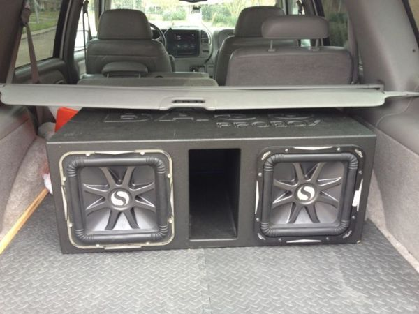 Two kicker L7 12s in a superbass probox - $399 (New Orleans)