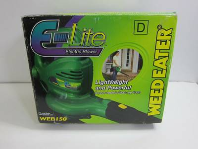 NEW - Weed Eater E-Lite WEB150 Electric Blower ONLY - $30 (Kenner)
