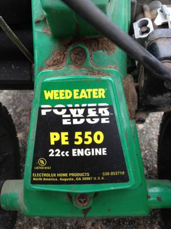 PE 550 Gas Weed Eater Power Edge AS-IS - $35 (Mandeville)