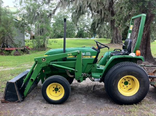 John Deere 770 tractor  Accessories - $9600 (Slidell, LA)