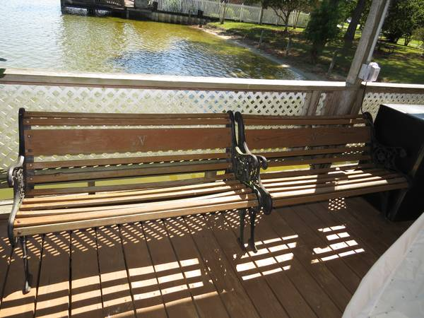 Park Bench - $90 (Lake Ramsey in Covington)