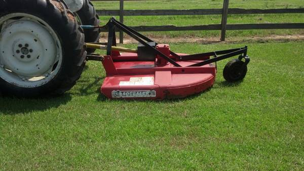 5 Foot Bush Hog - $750 (Mount Hermon, La.)
