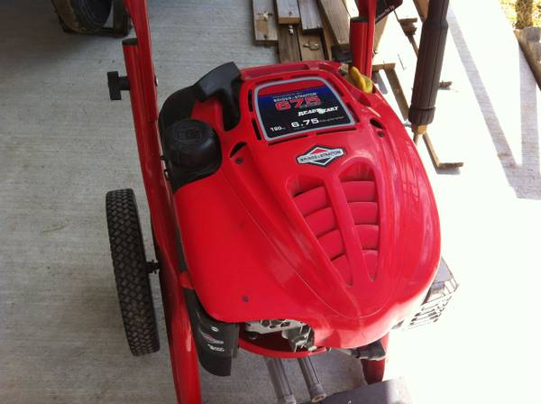 TROY-BILT 2500 PSI PRESSURE WASHER - $35 (Metairie)
