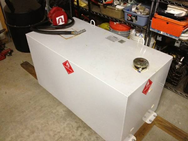 100 Gallon Delta Fuel Transfer Tank  Pump - $400 (Mississippi Gulf Coast)